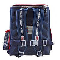 Рюкзак школьный ортопедический каркасный 1 Вересня H-18 Harvard, 35*28*14.5 код: 555108, фото 6