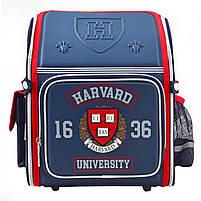 Рюкзак школьный ортопедический каркасный 1 Вересня H-18 Harvard, 35*28*14.5 код: 555108, фото 7