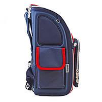 Рюкзак школьный ортопедический каркасный 1 Вересня H-18 Harvard, 35*28*14.5 код: 555108, фото 8
