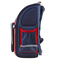 Рюкзак школьный ортопедический каркасный 1 Вересня H-18 Harvard, 35*28*14.5 код: 555108, фото 9
