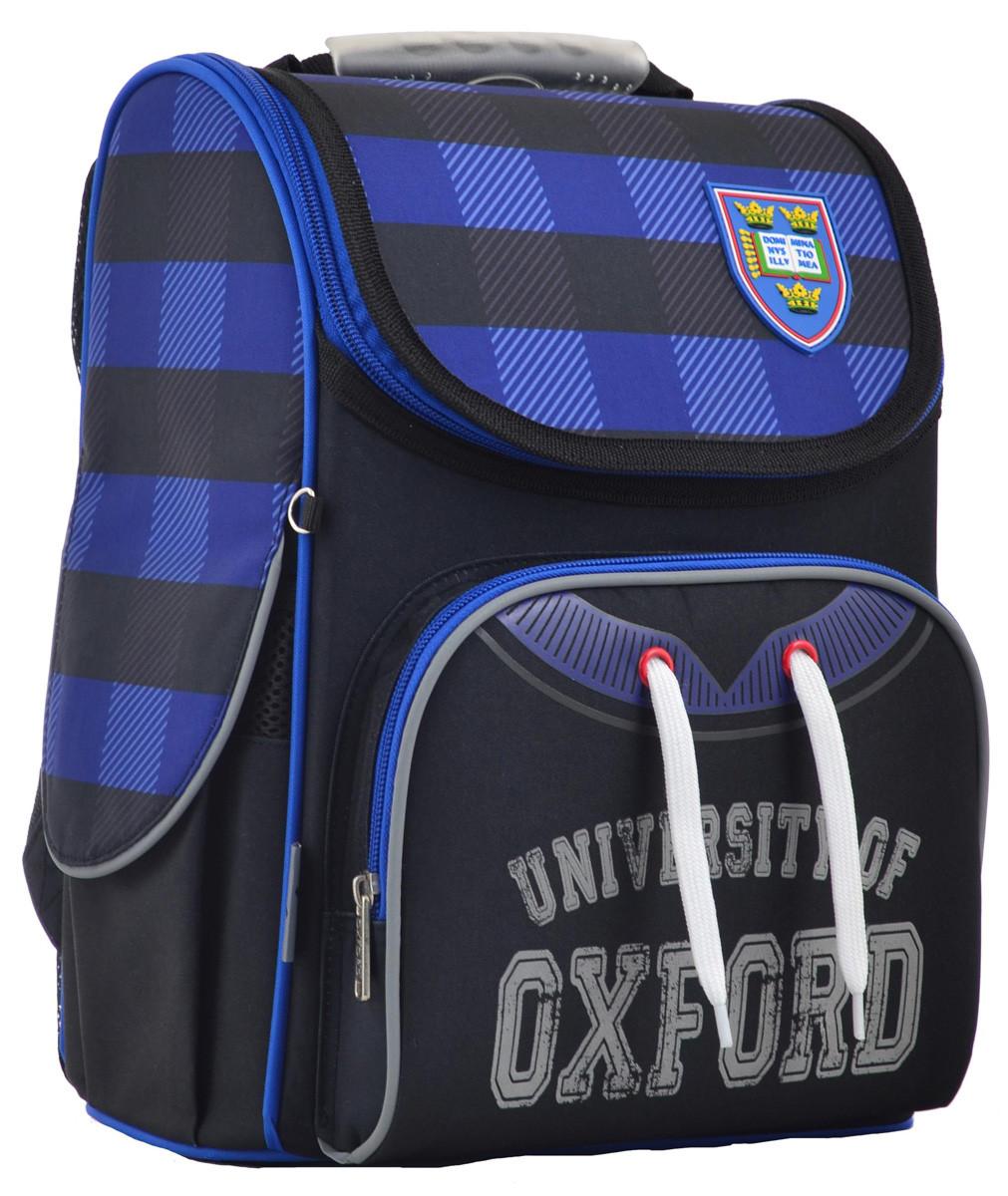 Рюкзак школьный ортопедический каркасный 1 Вересня H-11 Oxford, 33.5*26*13.5 код: 555130