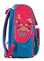 Рюкзак школьный каркасный 1 Вересня H-11 Winx mint, 33.5*26*13.5 код: 555188, фото 2