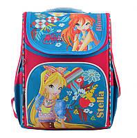 Рюкзак школьный каркасный 1 Вересня H-11 Winx mint, 33.5*26*13.5 код: 555188, фото 3
