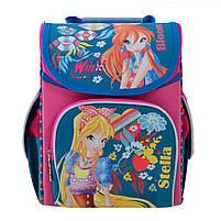 Рюкзак школьный каркасный 1 Вересня H-11 Winx mint, 33.5*26*13.5 код: 555188, фото 6