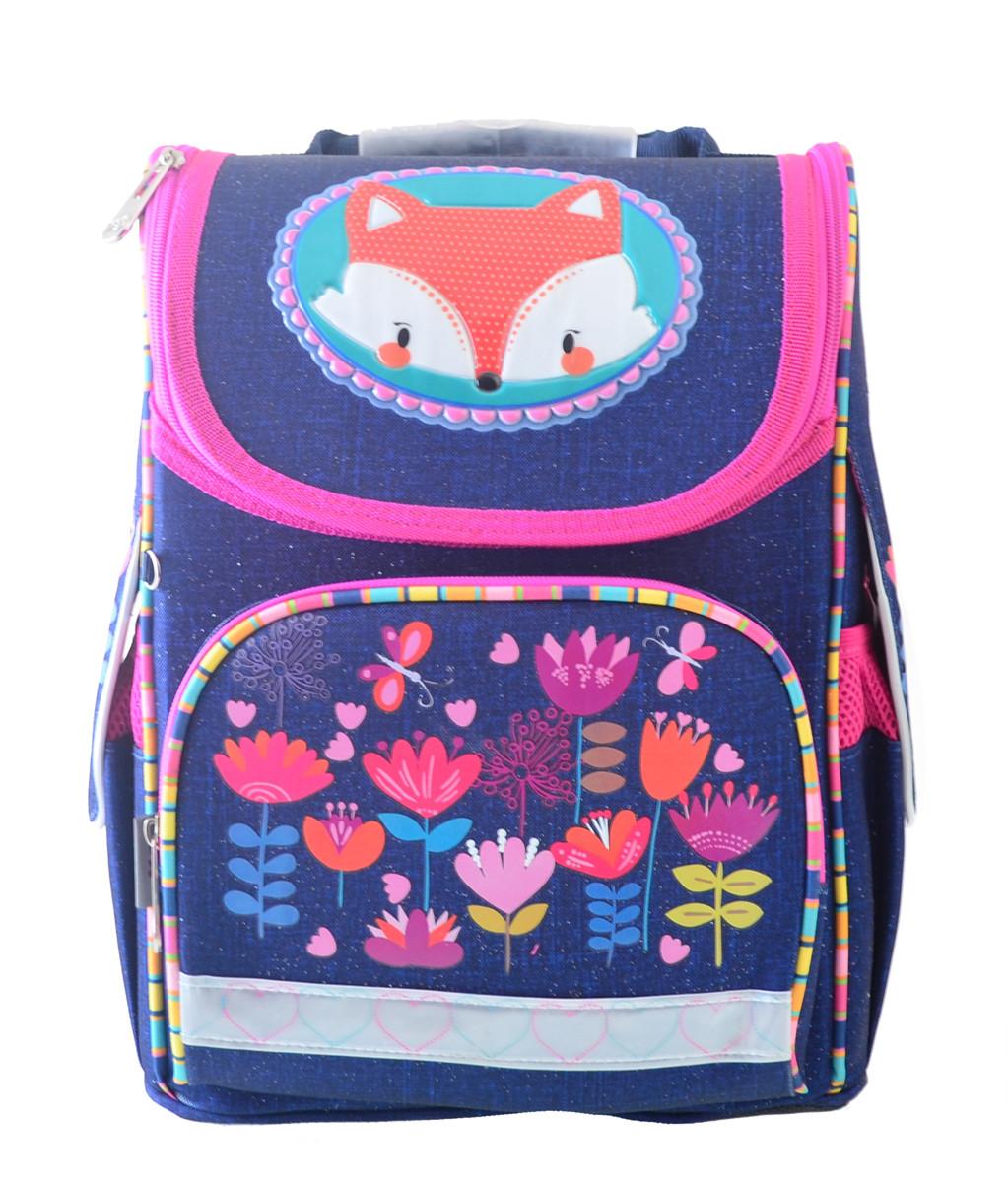 Рюкзак школьный ортопедический каркасный  YES  H-11 Fox, 33.5*26*13.5 код: 555202