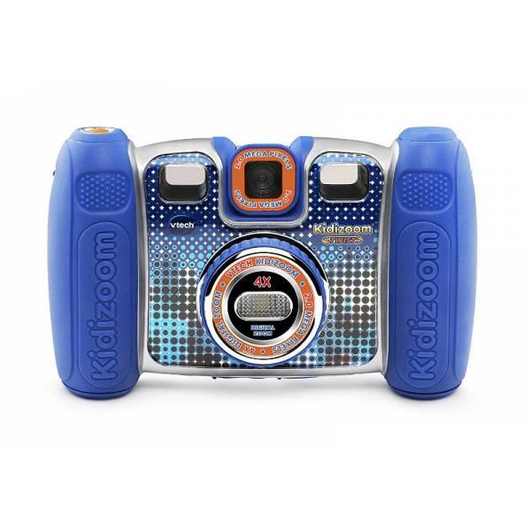 VTech Детская цифровая камера с видео записью синий Kidizoom 80-140820 Twist Connect Camera Blue