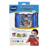 VTech Детская цифровая камера с видео записью синий Kidizoom 80-140820 Twist Connect Camera Blue, фото 3