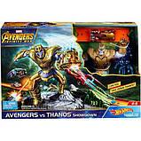 Hot Wheels Трек Танос-разрушитель FLM81 Marvel Avengers vs Thanos Showdown Play Set, фото 2