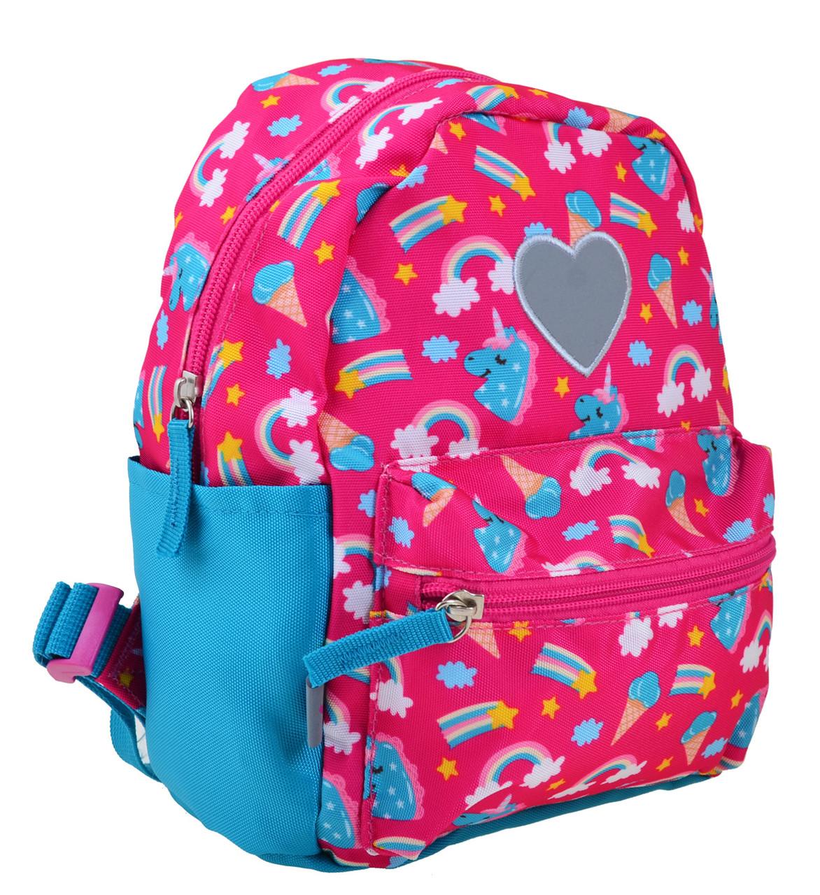 Рюкзак детский дошкольный YES K-19 Unicorn, 24.5*20*11 код: 555309
