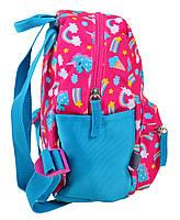 Рюкзак детский дошкольный YES K-19 Unicorn, 24.5*20*11 код: 555309, фото 2