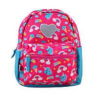 Рюкзак детский дошкольный YES K-19 Unicorn, 24.5*20*11 код: 555309, фото 4