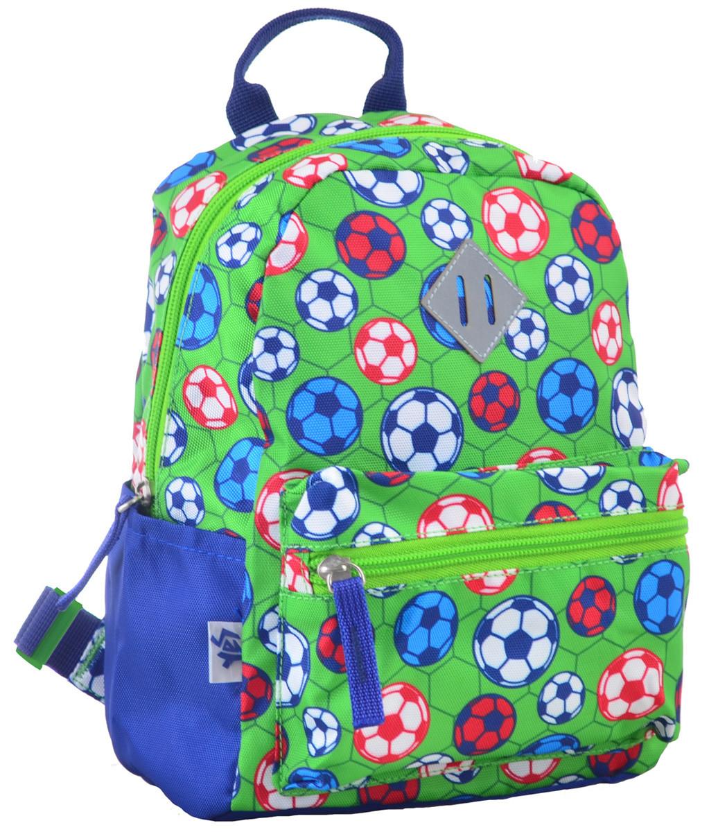 Рюкзак детский дошкольный YES K-19 Football, 24.5*20*11 код: 555311