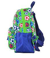 Рюкзак детский дошкольный YES K-19 Football, 24.5*20*11 код: 555311, фото 3