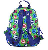 Рюкзак детский дошкольный YES K-19 Football, 24.5*20*11 код: 555311, фото 4