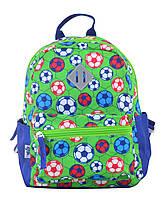 Рюкзак детский дошкольный YES K-19 Football, 24.5*20*11 код: 555311, фото 5