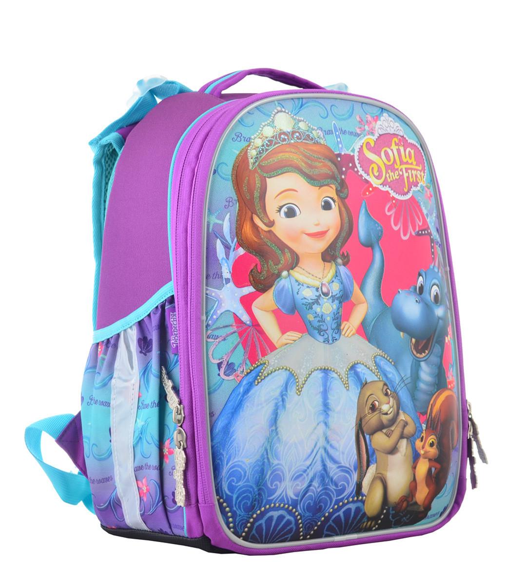 Рюкзак школьный ортопедический каркасный 1 Вересня H-25 Sofia, 35*26*16 код: 555364