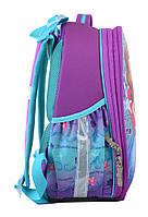 Рюкзак школьный ортопедический каркасный 1 Вересня H-25 Sofia, 35*26*16 код: 555364, фото 2
