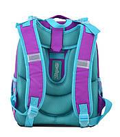 Рюкзак школьный ортопедический каркасный 1 Вересня H-25 Sofia, 35*26*16 код: 555364, фото 4