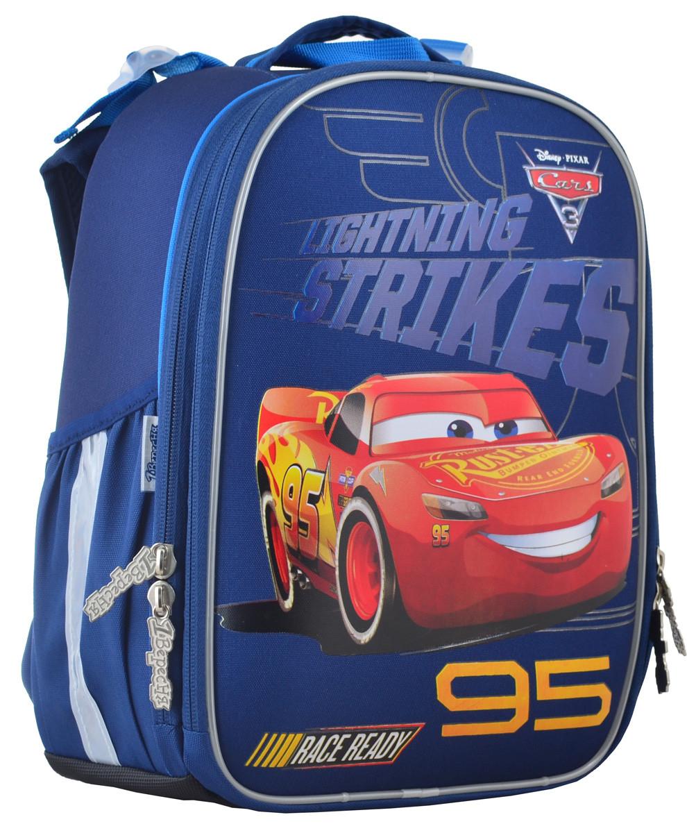Рюкзак школьный ортопедический каркасный 1 Вересня H-25 Cars, 35*26*16 код: 555368