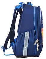 Рюкзак школьный ортопедический каркасный 1 Вересня H-25 Cars, 35*26*16 код: 555368, фото 2