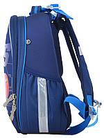 Рюкзак школьный ортопедический каркасный 1 Вересня H-25 Cars, 35*26*16 код: 555368, фото 3
