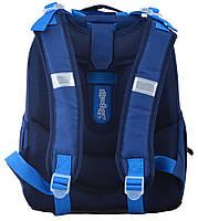 Рюкзак школьный ортопедический каркасный 1 Вересня H-25 Cars, 35*26*16 код: 555368, фото 4