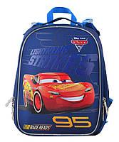 Рюкзак школьный ортопедический каркасный 1 Вересня H-25 Cars, 35*26*16 код: 555368, фото 5