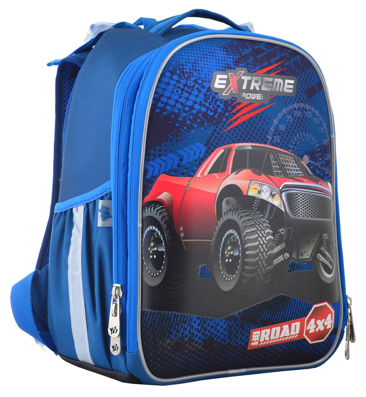 Рюкзак школьный ортопедический каркасный YES H-25 Extreme, 35*26*16 код: 555371