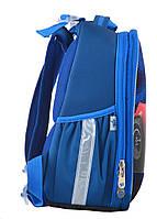 Рюкзак школьный ортопедический каркасный YES H-25 Extreme, 35*26*16 код: 555371, фото 2