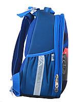 Рюкзак школьный ортопедический каркасный YES H-25 Extreme, 35*26*16 код: 555371, фото 5