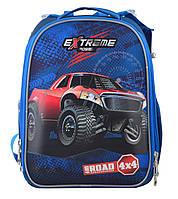 Рюкзак школьный ортопедический каркасный YES H-25 Extreme, 35*26*16 код: 555371, фото 7