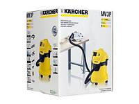 Промышленный пылесос KARCHER WD 3 P 1.629-882.0 1000W желтого цвета - немедленная отправка