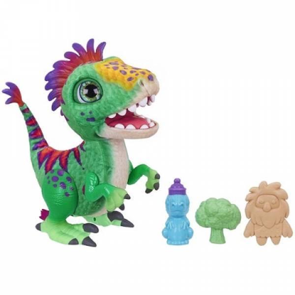 FurReal Friends Интерактивный динозавр Малыш Дино E0387 Munchin' Rex