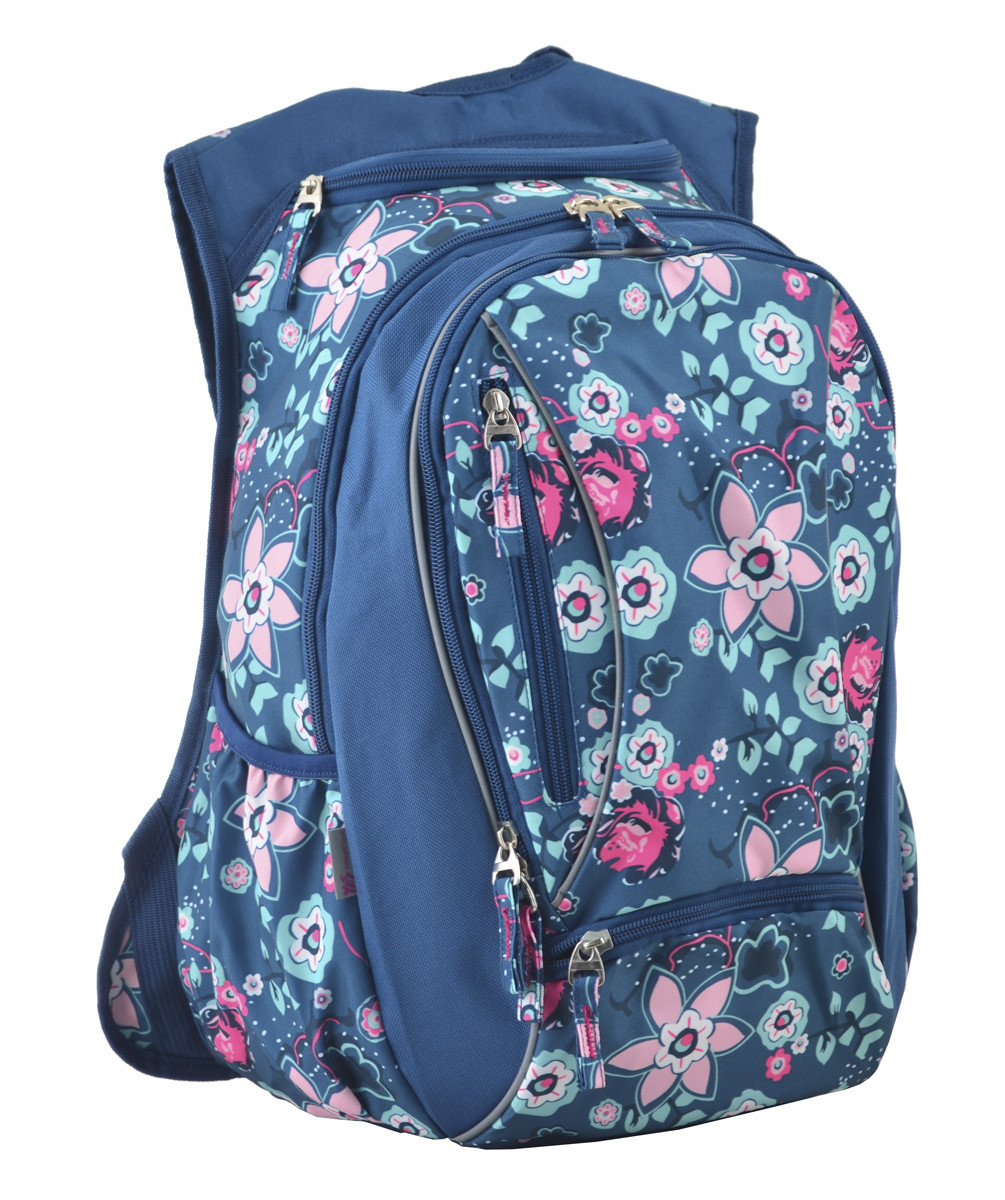 Рюкзак школьный ортопедический для подростка YES Т-28 Spring, 47*39*23 код: 555545