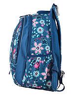 Рюкзак школьный ортопедический для подростка YES Т-28 Spring, 47*39*23 код: 555545, фото 3