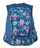 Рюкзак школьный ортопедический для подростка YES Т-28 Spring, 47*39*23 код: 555545, фото 5
