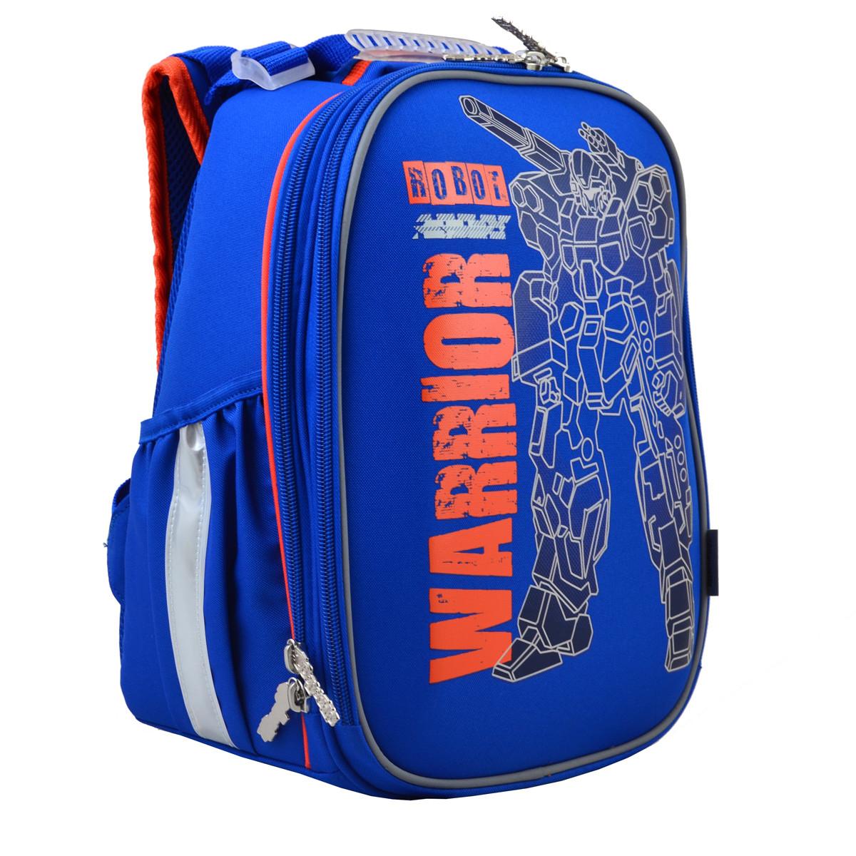 Рюкзак школьный ортопедический каркасный 1 Вересня H-25 Robot, 35*26*16 код: 555788