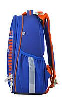 Рюкзак школьный ортопедический каркасный 1 Вересня H-25 Robot, 35*26*16 код: 555788, фото 3