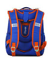 Рюкзак школьный ортопедический каркасный 1 Вересня H-25 Robot, 35*26*16 код: 555788, фото 4