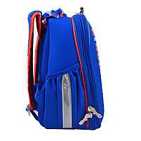 Рюкзак школьный ортопедический каркасный 1 Вересня H-25 Robot, 35*26*16 код: 555788, фото 6