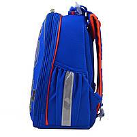 Рюкзак школьный ортопедический каркасный 1 Вересня H-25 Robot, 35*26*16 код: 555788, фото 7