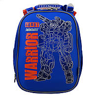 Рюкзак школьный ортопедический каркасный 1 Вересня H-25 Robot, 35*26*16 код: 555788, фото 8