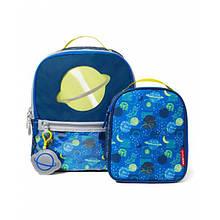 Skip Hop Дитячий шкільний рюкзак і ланч бокс планета Forget Me Not Pack Lunchie
