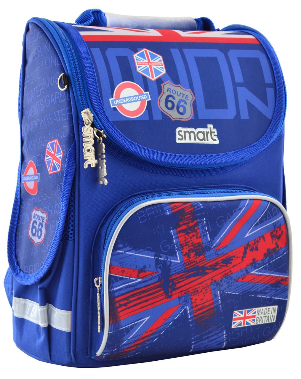 Рюкзак школьный ортопедический каркасный Smart PG-11 London код: 555987