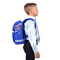 Рюкзак школьный ортопедический каркасный Smart PG-11 London код: 555987, фото 2