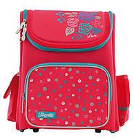 Рюкзак школьный ортопедический каркасный 1 Вересня H-17 Lovely roses код: 556331, фото 3