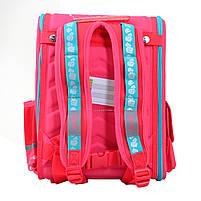 Рюкзак школьный ортопедический каркасный 1 Вересня H-17 Lovely roses код: 556331, фото 4