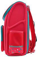 Рюкзак школьный ортопедический каркасный 1 Вересня H-17 Lovely roses код: 556331, фото 5
