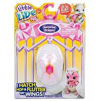 Little Live Pets S1 Интерактивный дракончик в яйце сюрприз Dragon Single Pack Childrens Toy Purple/Pink
