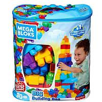 Mega Bloks First Builders Конструктор классический в сумке 80 деталей 80-Piece Big Building Bag Classic, фото 1